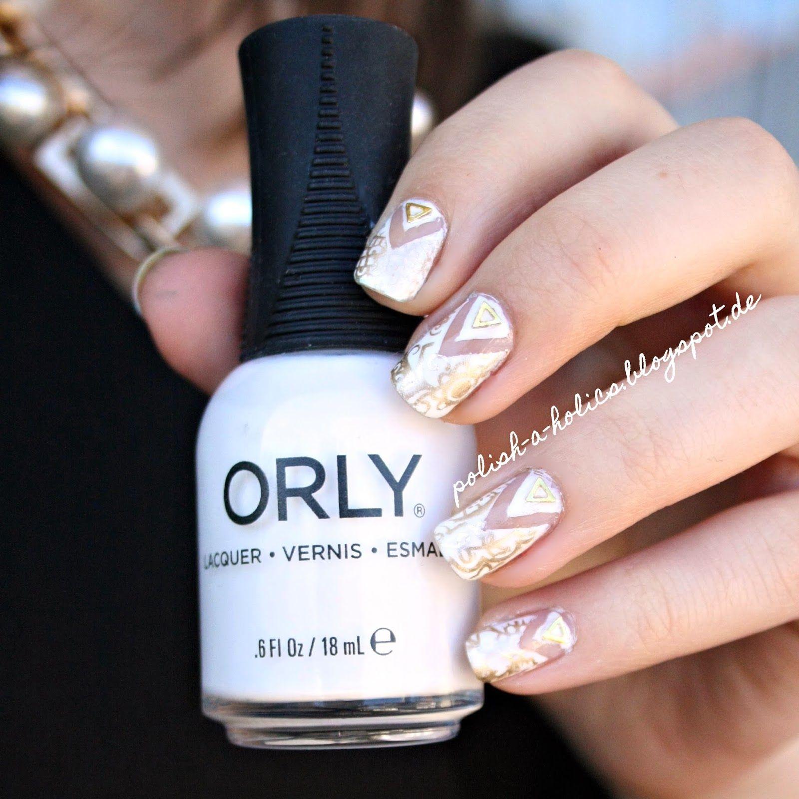 #cutout #nails #nailart #orly #white #whitenails #whiteandgold #bornprettystore #zara #zaranecklace