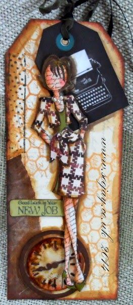 prima doll stamps journal - Google Search