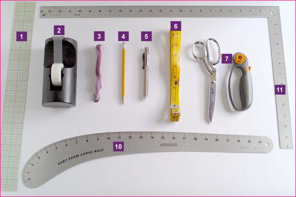 9 Tools You Need to Make Your Own Sewing Patterns | Sewing ...