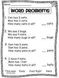 Image result for activities for solving word problems for ...