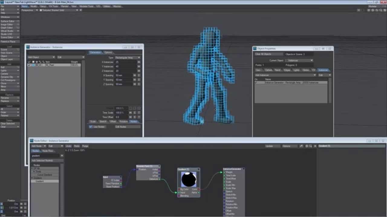 3d 8 Bit Effect 8 Bit Tutorial Computer Graphics