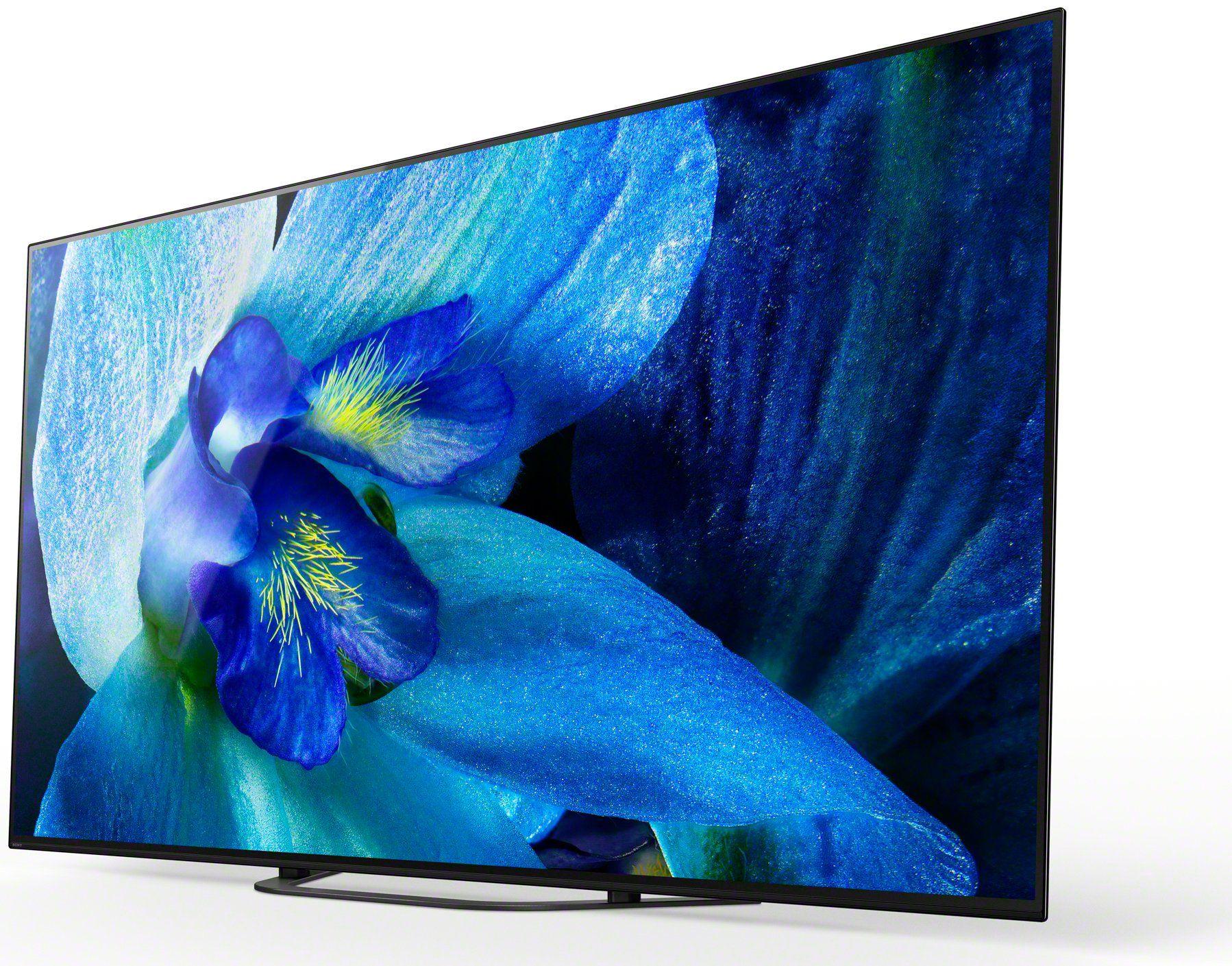 Sony Bravia A8g 55 Inch Oled 4k Uhd Smart Tv Oled Tv Smart Tv Oled 4k Tv
