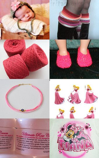 Pretty in Pink by Theresa on Etsy--Pinned with TreasuryPin.com