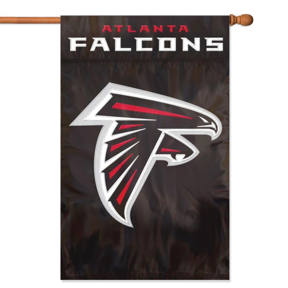 Party Animal Atlanta Falcons Applique Banner Flag Nfl Flag Atlanta Falcons Falcons