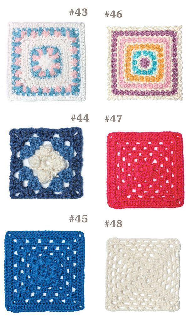 Picture of 99 Granny Squares to Crochet | Crochet | Pinterest ...