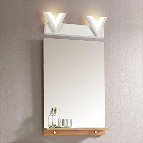 NOHOPE Moderne LED Acryl Lampenschirm V Form Spiegel Licht Warmes