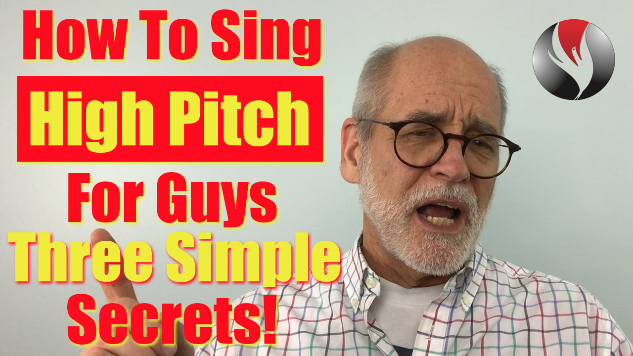 How to sing high pitch for guys? When someone asks about
