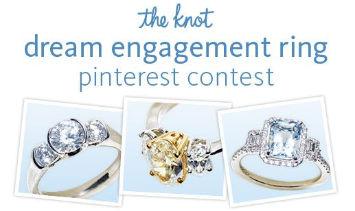 The Knots Dream Engagement Ring Contest Dream engagement rings