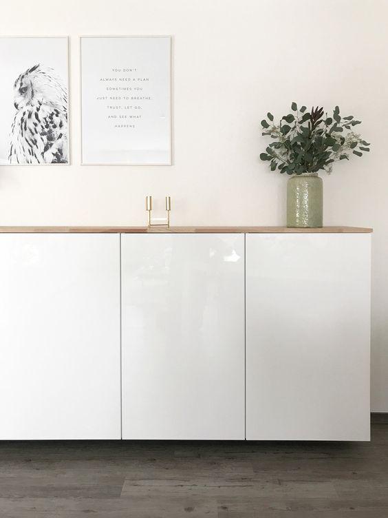 Ikea Hack – Metod Küchenschrank als Sideboard – Nina