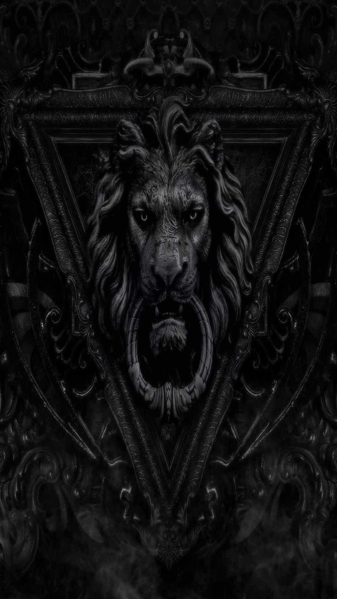 Black Lion Wallpaper Hd Hupages Download Iphone Wallpapers Lion Wallpaper Dark Wallpaper Black Lion