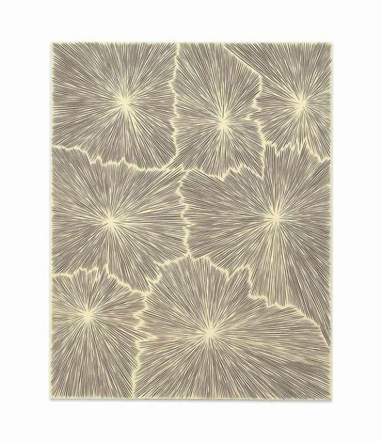 James Siena (b. 1958) -   Upside Down Devil Variation (Brown)