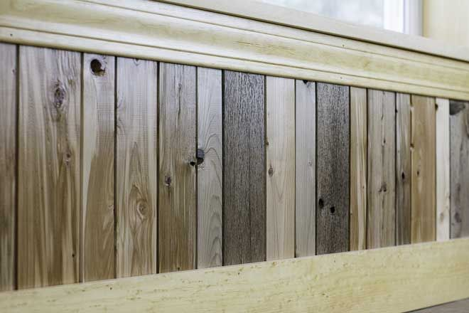 Reclaimed Wainscoting From Maine Heritage Timber Wainscoting