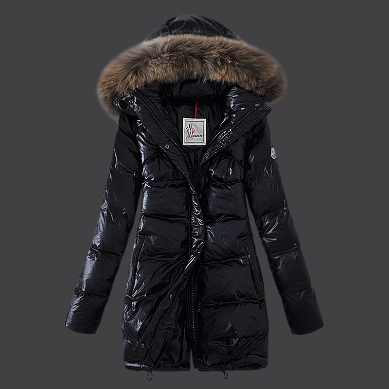 30b3ef50e New! Moncler Euramerican Style Down Coats Womens Black | Casual Fall ...