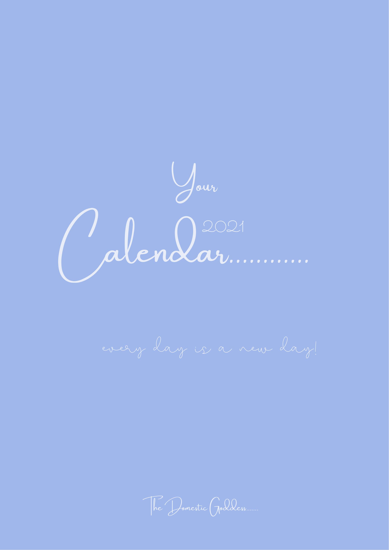2021 Calendar, Printable Calendar, Holidays, Free Bonus ...