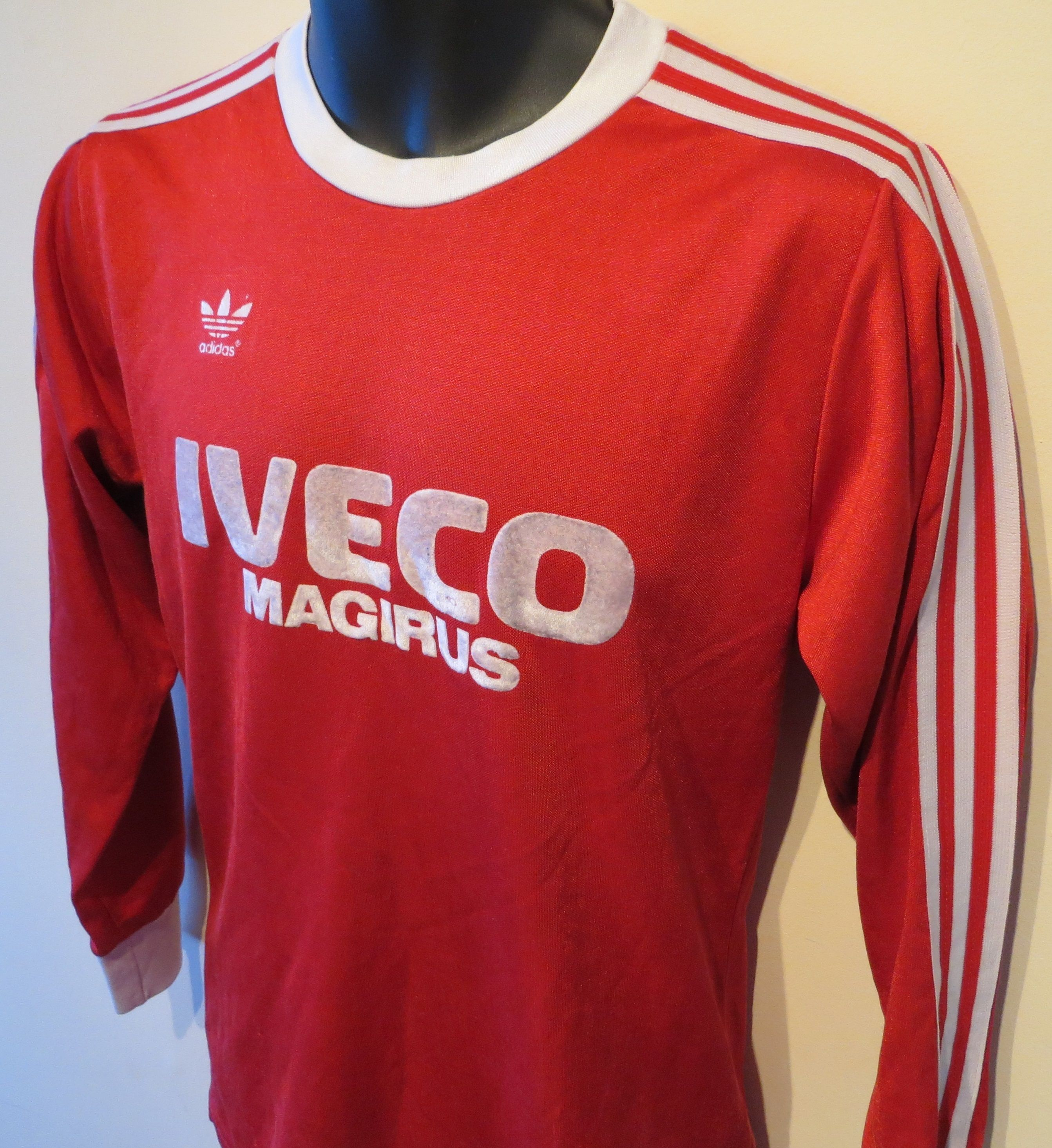 f95f9d3e8b0 Rare 1980s Bayern Munich home shirt by Adidas. | jerseys | Retro ...