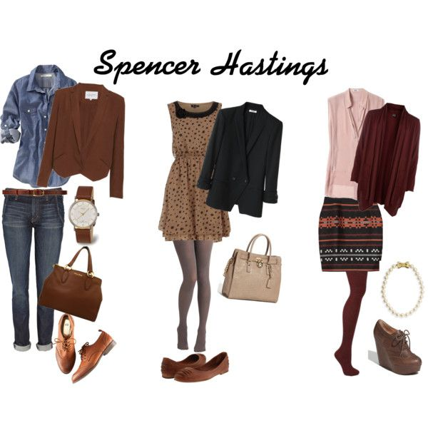 Spencer Hastings Look (Pretty Little Liars) | Character ...