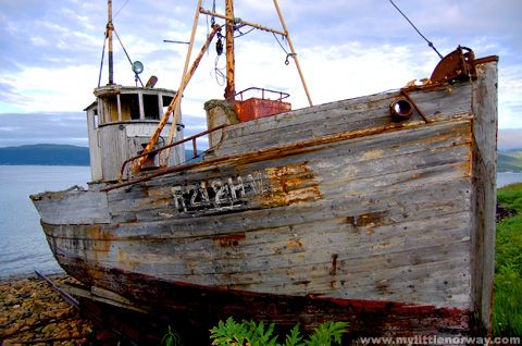Vintage Photos Old Fishing Boat My Little Norway With Images Fishing Boats Boat Old Boats