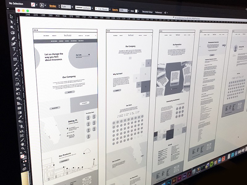 Wireframes by Top UX Designers. Wireframes are important for multiple… | by Emma Drews | Inspiration Supply | Medium