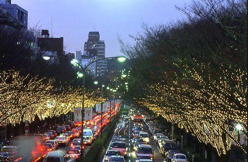 Harajuku in the X'mas by keizo56, via Flickr