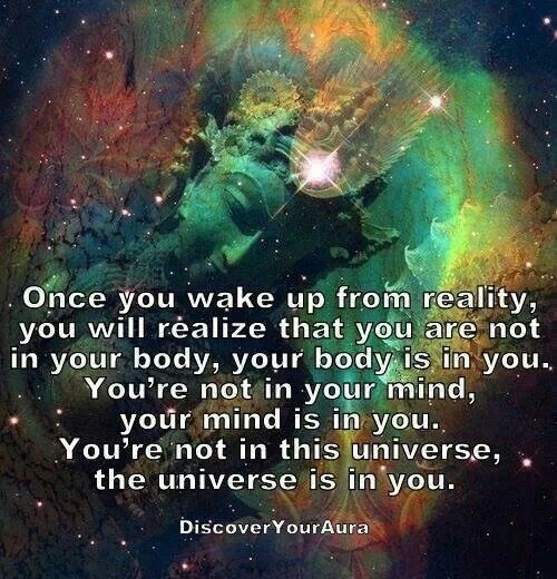 Once You Wake Up From Reality You Will Realize That You Are Not
