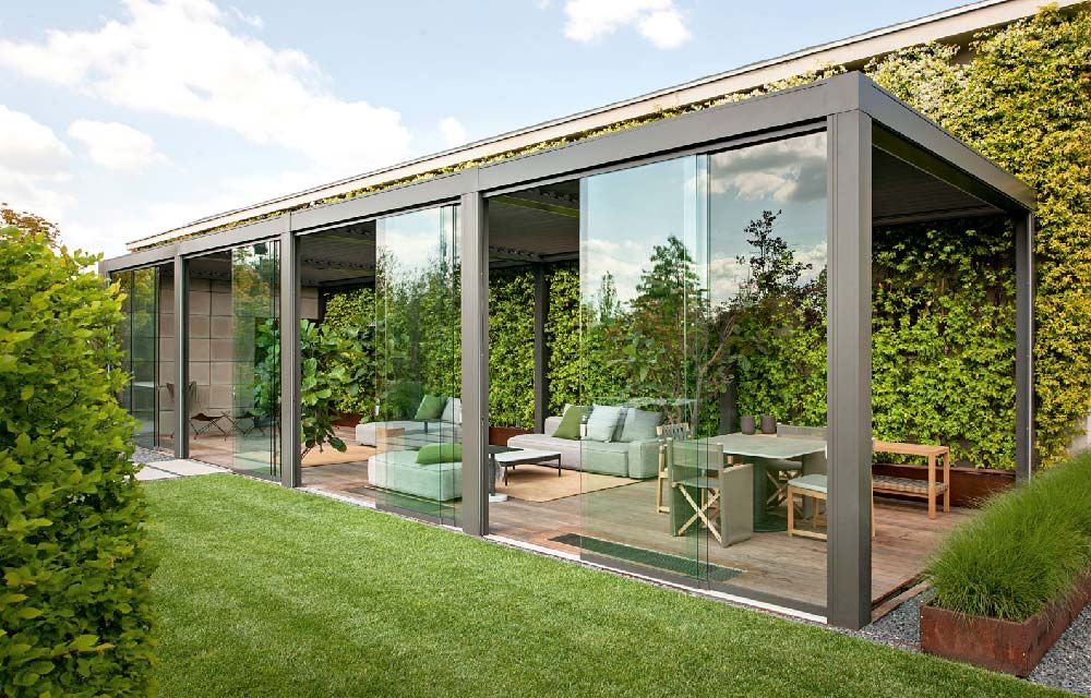 Arredare il giardino o la terrazza per tutte le stagioni | Pergolas ...