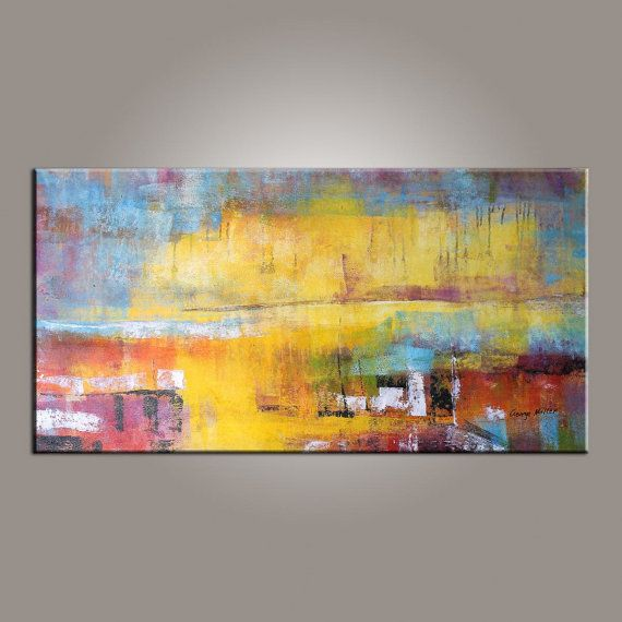 Abstract Painting, Modern Art, Large Wall Art Canvas, Large ...