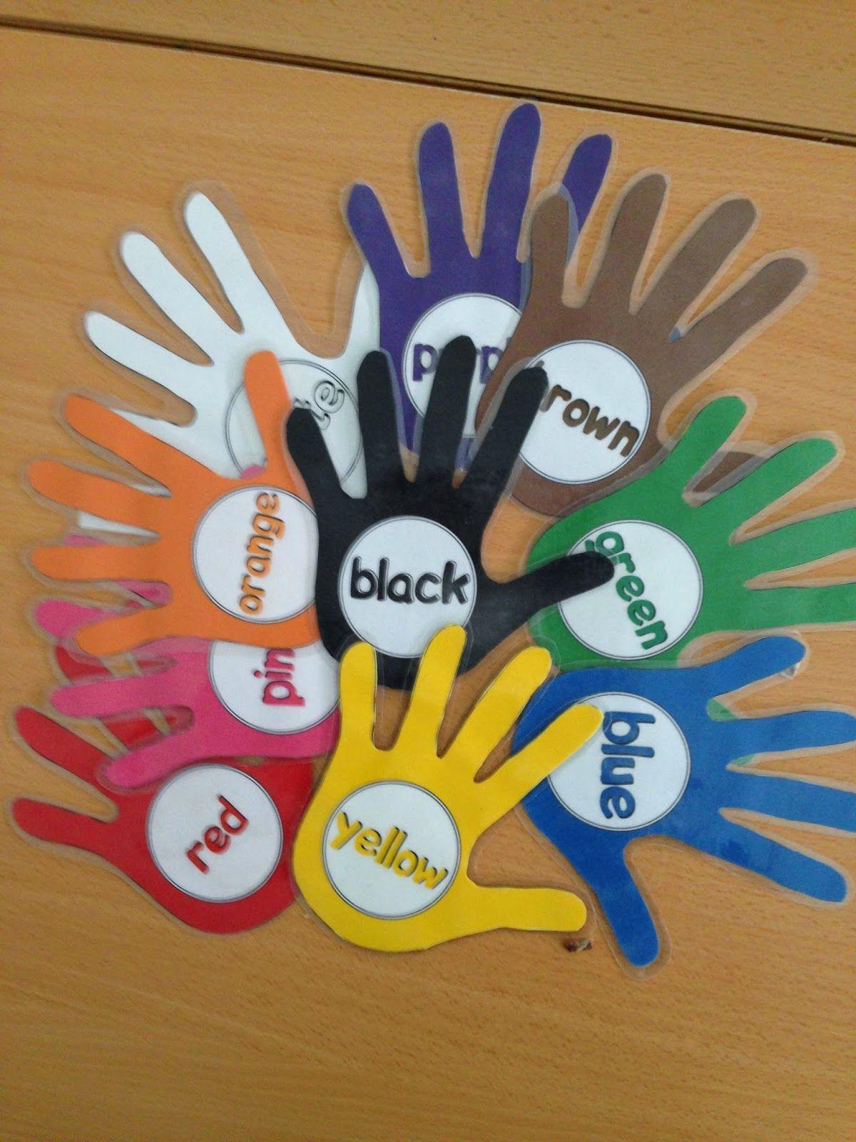 Preschool Blog Colors And Actions