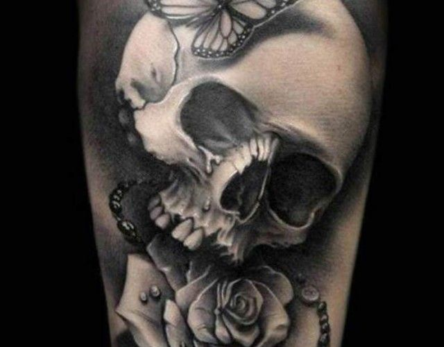 Realistic Skull Tattoo - Bing images