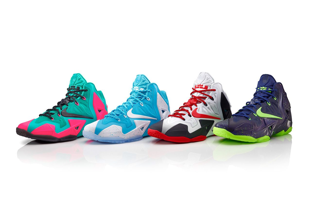 buy online 98dee 3acb1 Cheap 2015 Nike LeBron 11 Cheap sale Vice City Customs