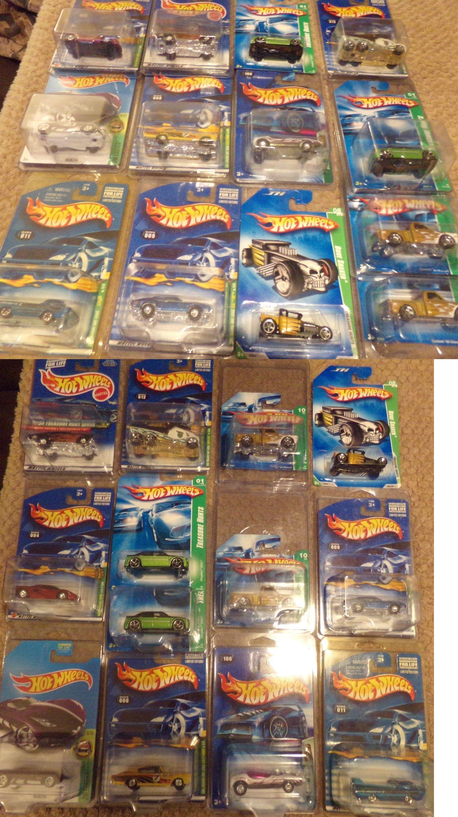 Diecast Toy Vehicles 51023 Lot Of Hot Wheels Treasure Hunts And Htf