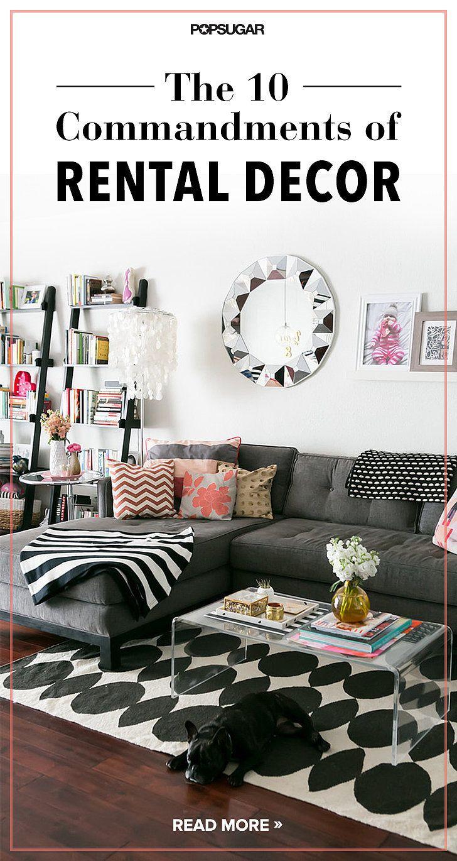 the 10 commandments of rental decor decorating apartments and the 10 commandments of rental decor since rentals usually lack storage