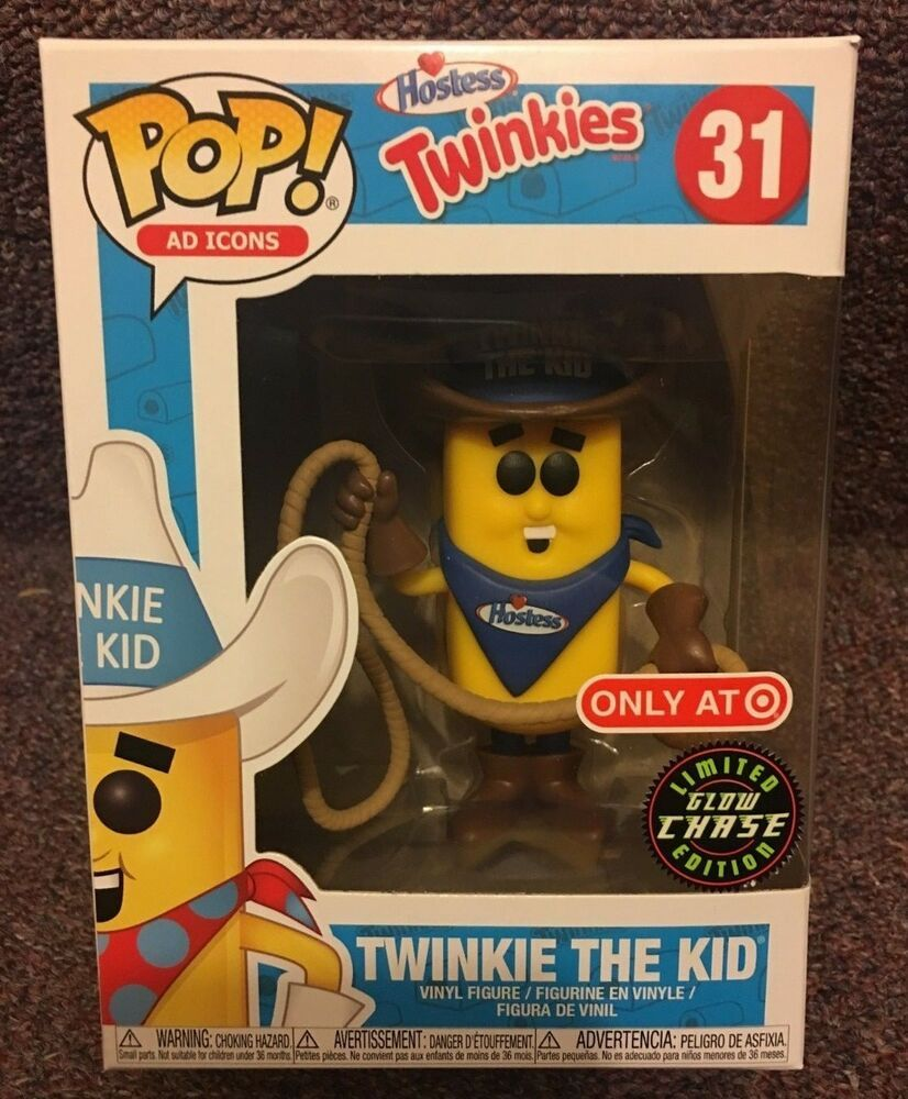 Funko Pop! CHASE Ad Icons 31 TWINKIE THE KID Glow in Dark