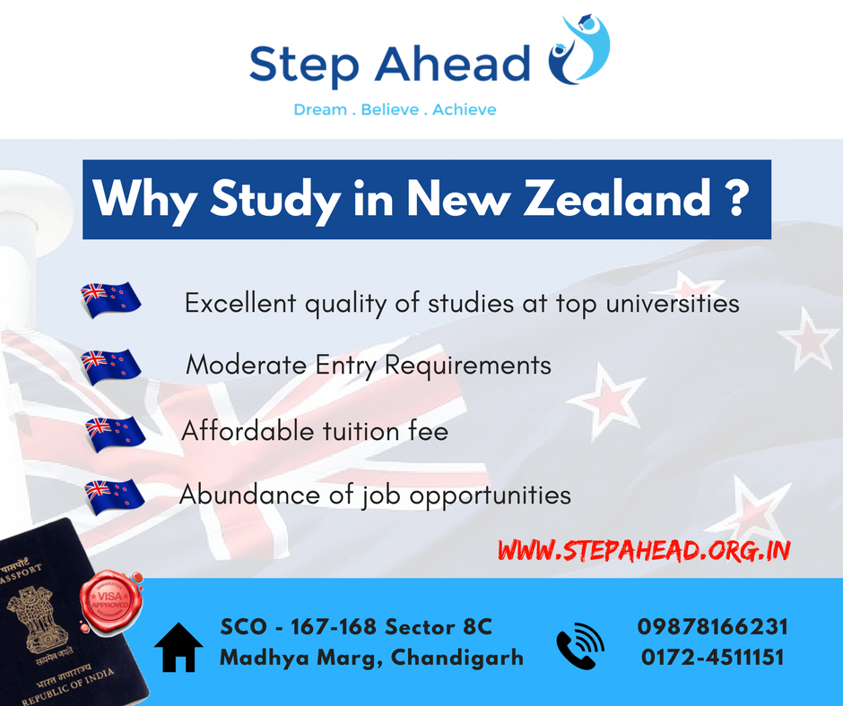 Ample Of Reasons To Choose New Zealand As Your Study Destination