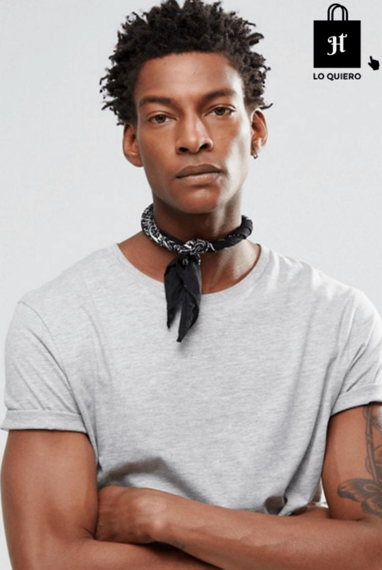 a un precio razonable elige genuino claro y distintivo Tendencia bandana pañuelo cuello #moda #modahombre ...