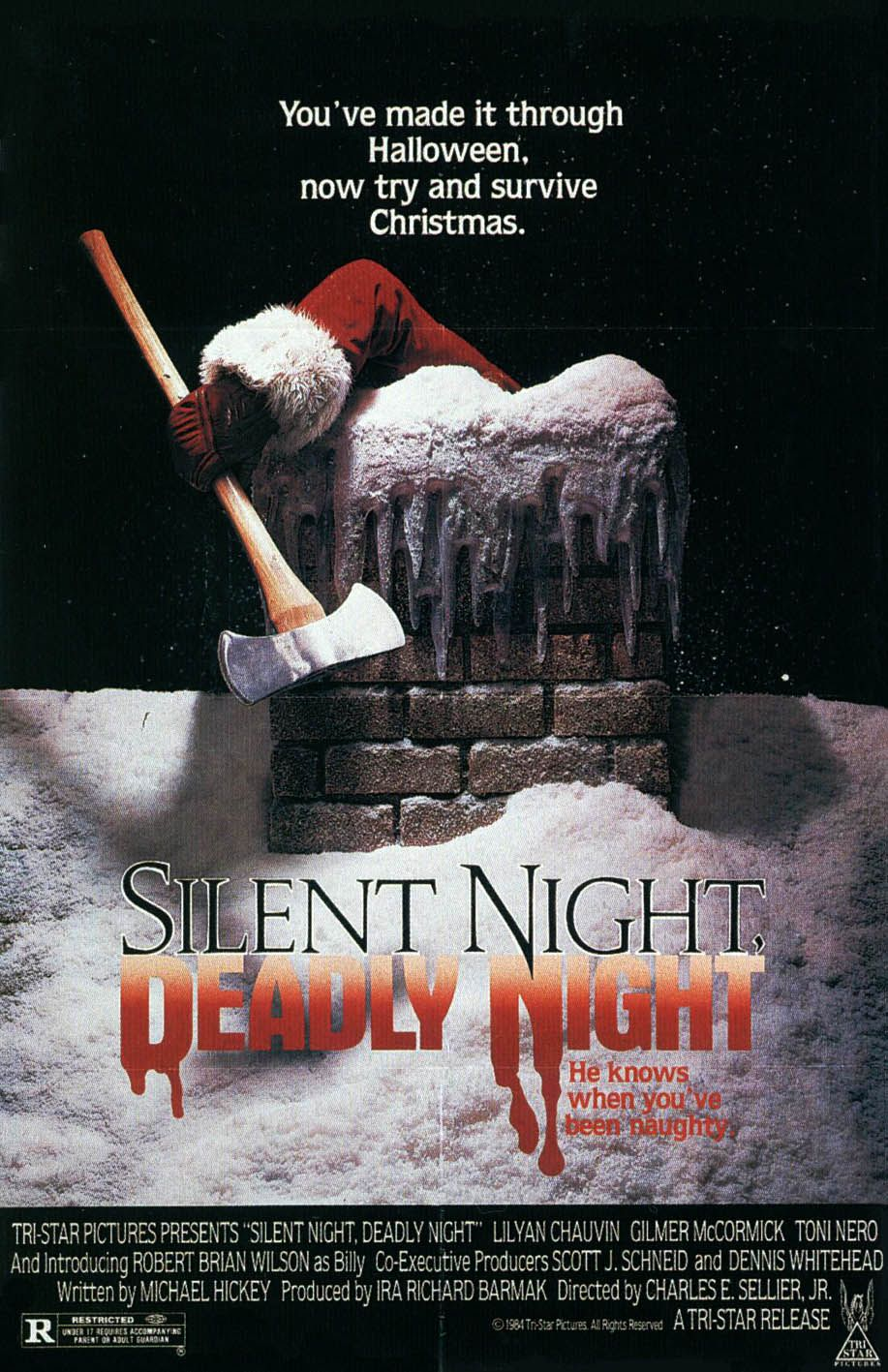 jdueso Christmas horror, Silent night, Horror movie posters
