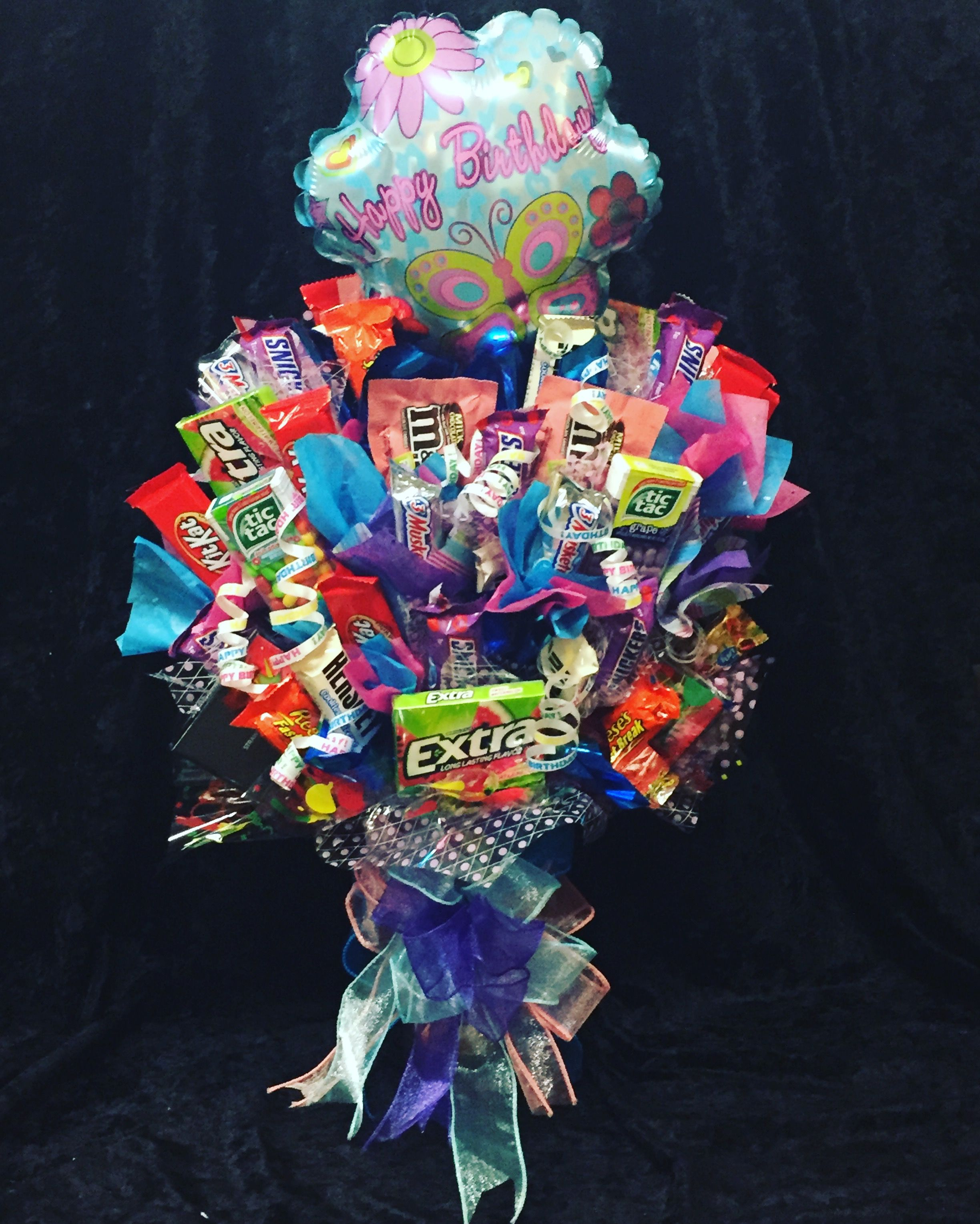 Candy Bouquet for my daughters 18th Birthday