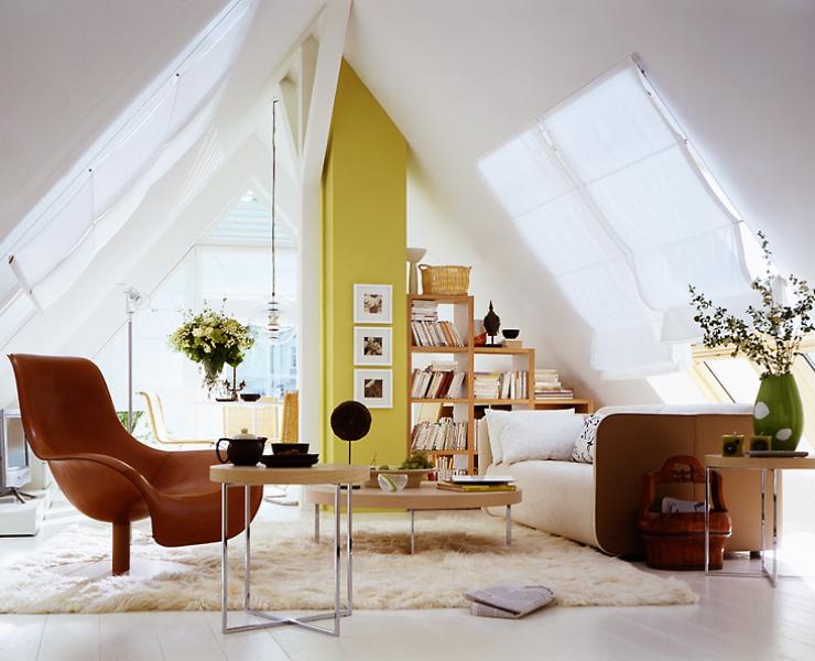 Raume Mit Dachschragen Ideen Fur Mobel Wande Mehr Wohnen