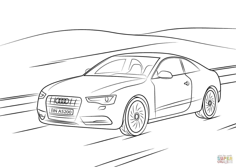 Malvorlagen Audi R8 Audi Audi R8 Audi Cars