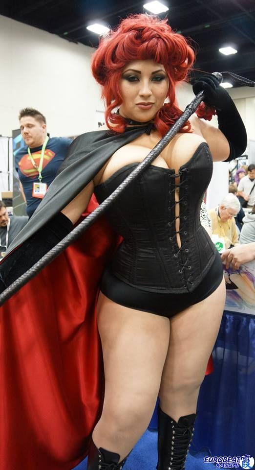 Ivy Doomkitty as Jean Grey Hellfire Club Black Queen ...
