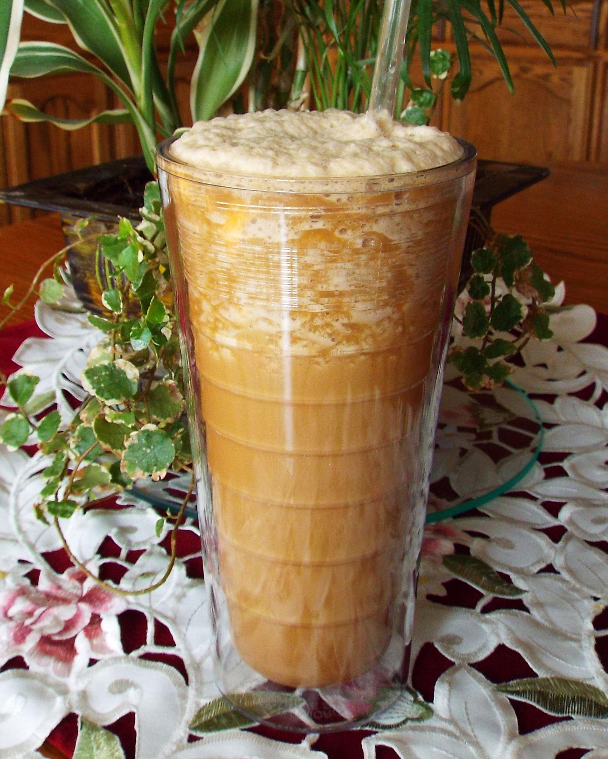 Creamy dreamy vanilla coconut ninjaccino ninja coffee