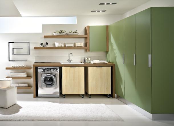 Come organizzare la lavanderia in bagno. | Cucina | Pinterest ...