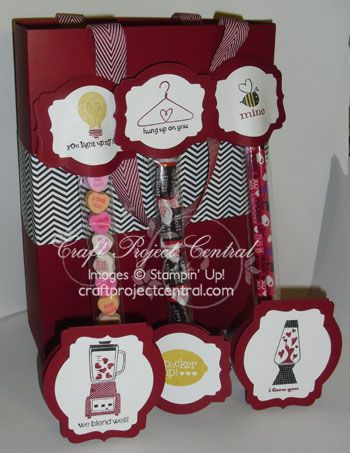 CraftProjectCentral.com » Blog Archive » Valentine Mini Cards & Treats!