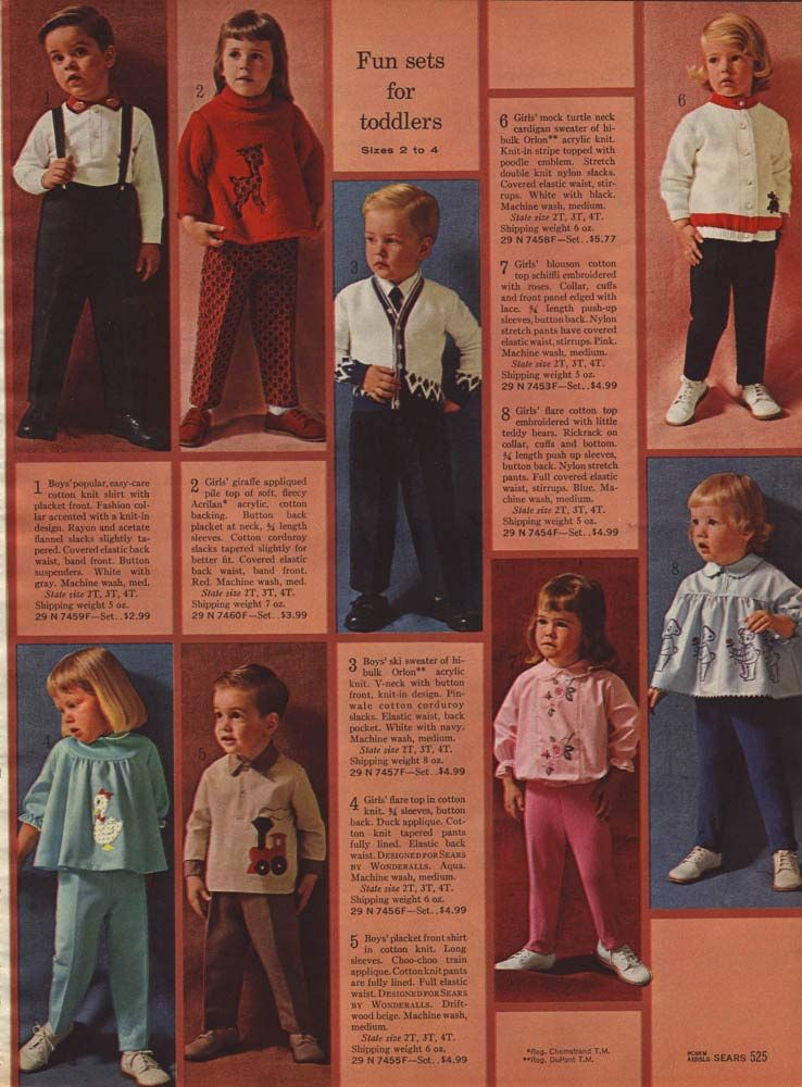 1960s Fashion Men & Boys Clothing Trends, Styles