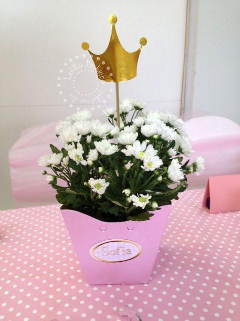 Princesas Gold Festa Da Bela Adormecida Aniversario De Bebe