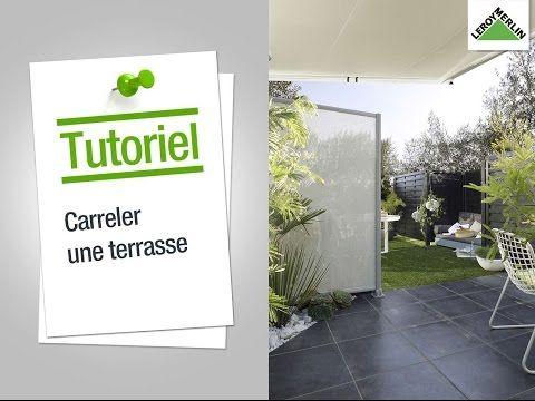 Comment réaliser une terrasse carrelée ? Leroy Merlin - YouTube