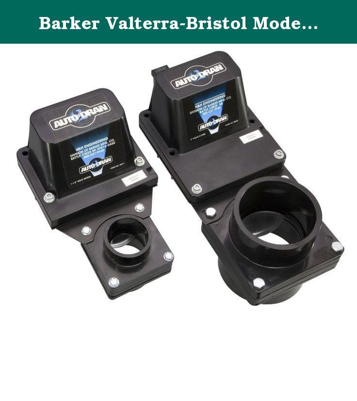 Barker Valterra-Bristol Model Auto Drain, Grey, 3-Inch  Just push a