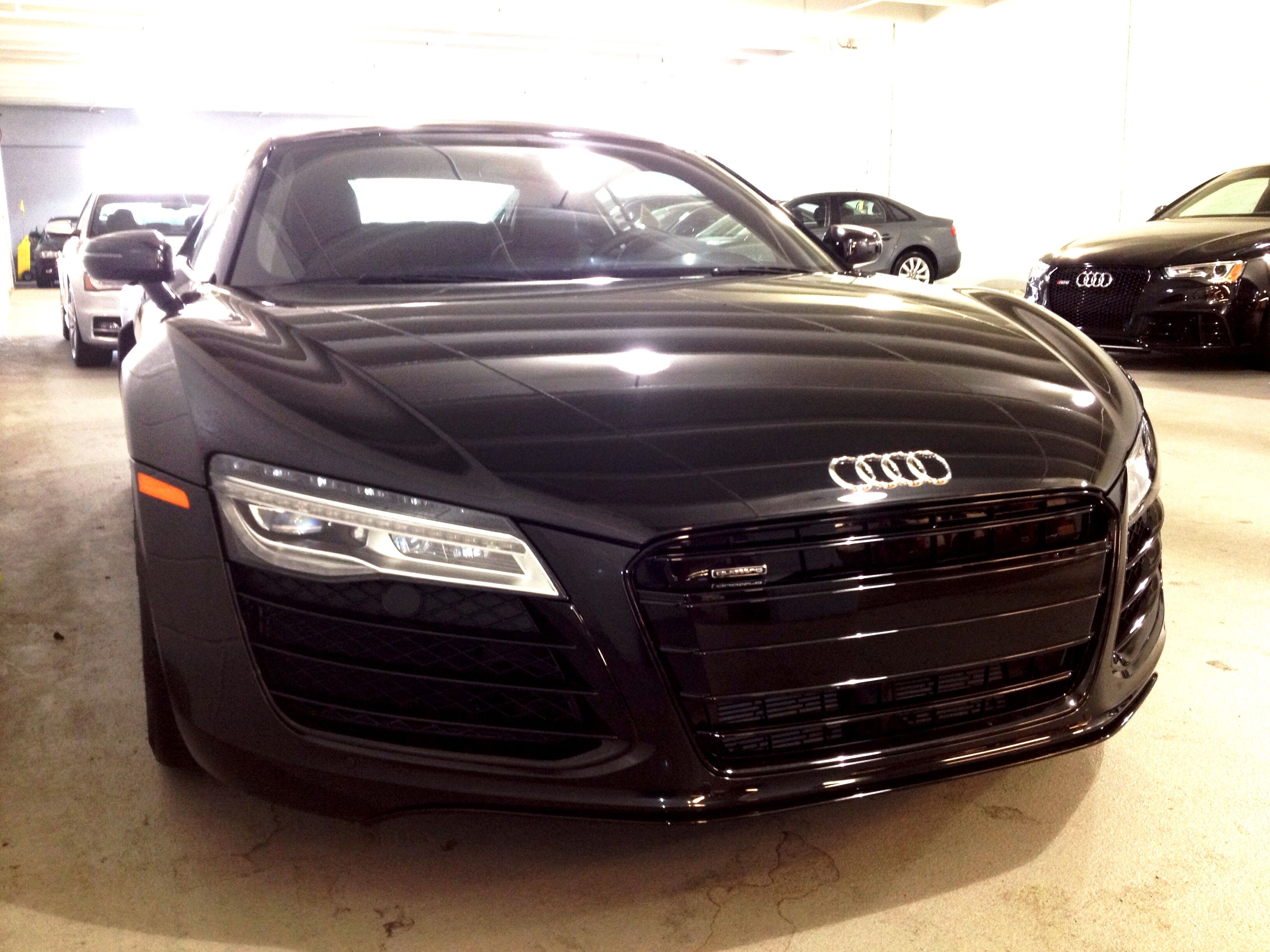 My type of audi r8 phantom black pearl effect audi r8 v10 with audi exclusive