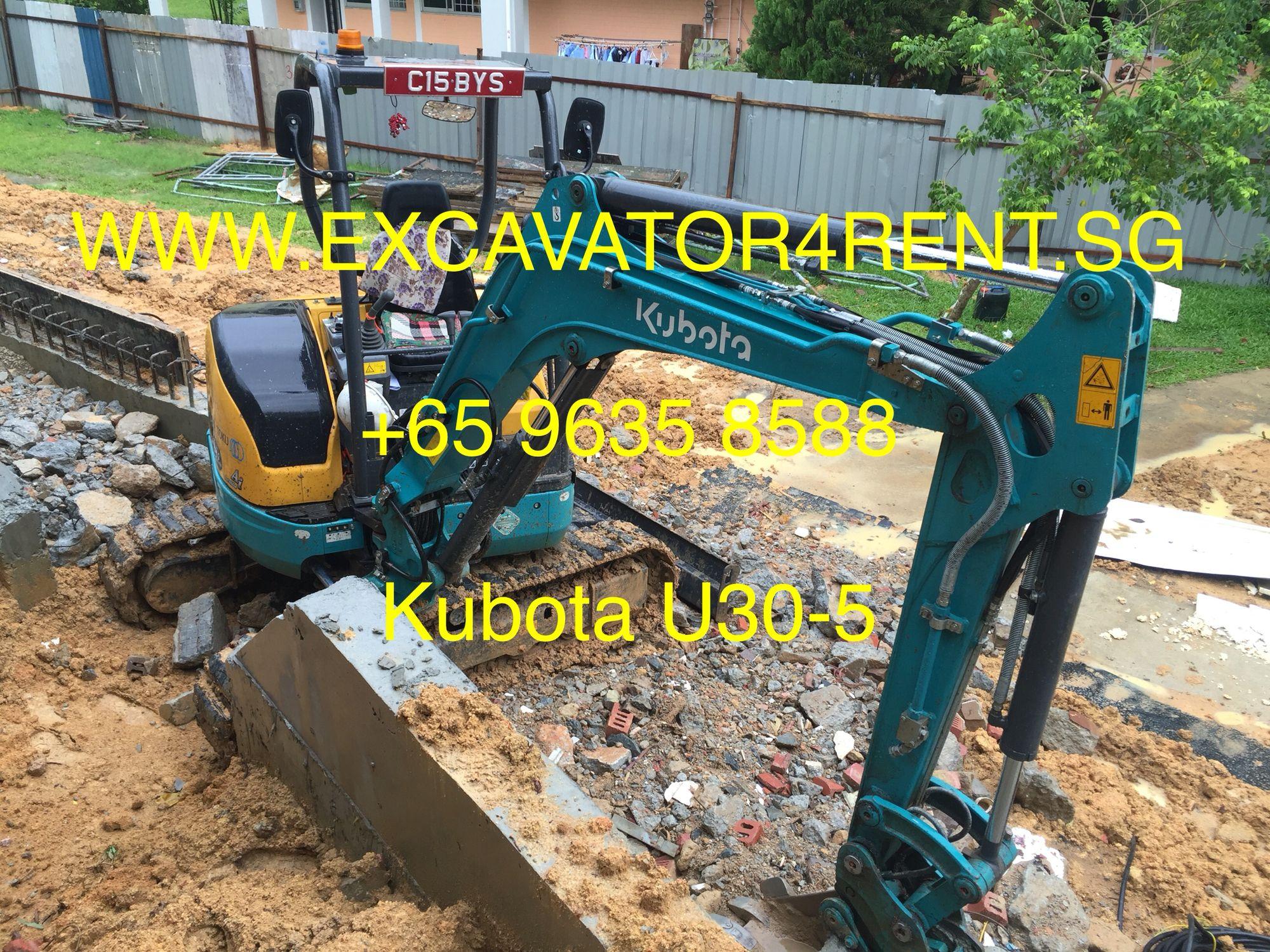 2015 Almost New 3 Ton Mini Kubota Excavator U30-5 With
