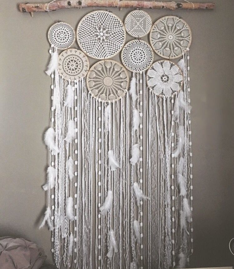 pingl par luisa mcmanus sur dreamcatchers pinterest macram attrape r ve et art macram. Black Bedroom Furniture Sets. Home Design Ideas