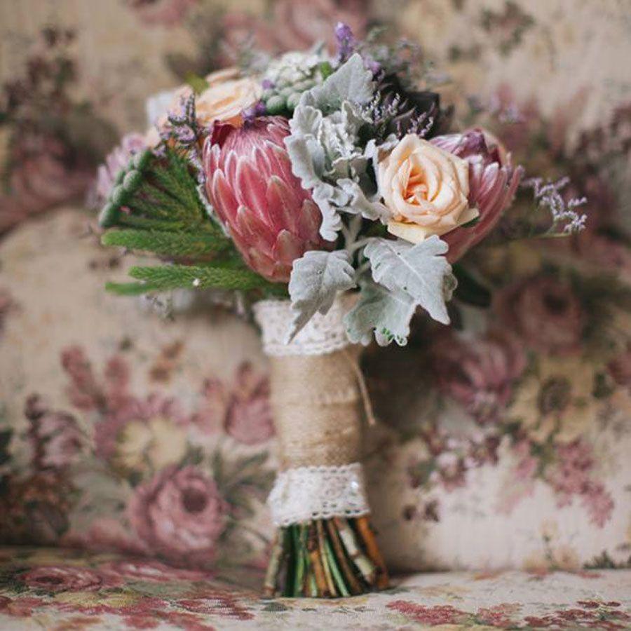 Wedding Cake Native Australian Flowers